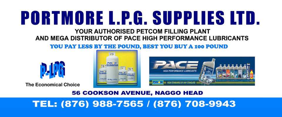 Portmore LPG Supplies Ltd. services
